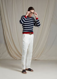 Cashmere Stripe Sweater, thumbnail 4