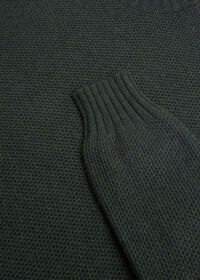 Cashmere Pique Turtleneck Sweater, thumbnail 2