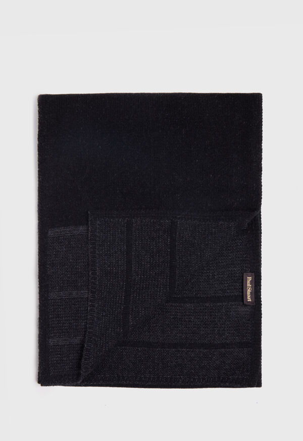 Cashmere Plaited Scarf, image 1