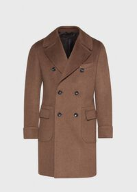 Vicuna Double Breasted Coat with Gauntlet, thumbnail 1