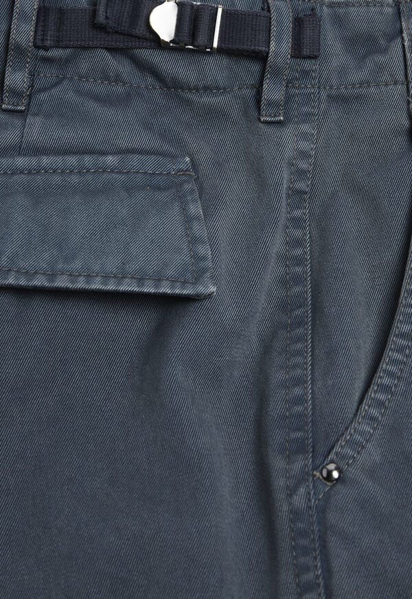 Solid Cargo Pant, image 3