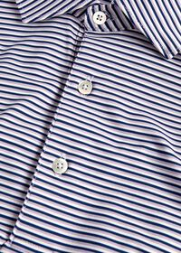 Multi Color Stripe Performance Polo, thumbnail 2