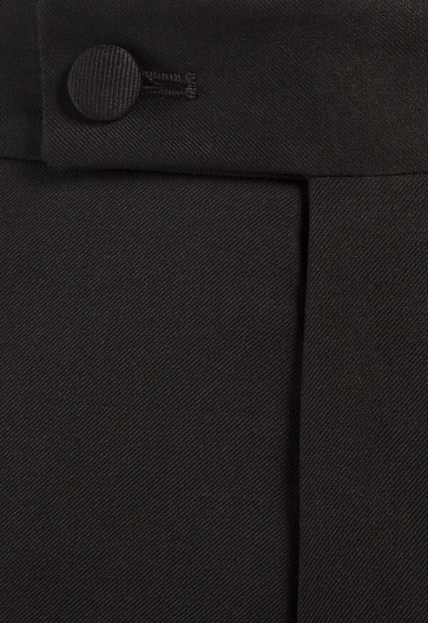 Super 110s Wool Peak Lapel Tuxedo, image 2