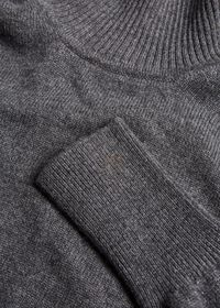 Classic Cashmere Double Ply Turtleneck Sweater, thumbnail 2