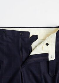 Navy and Rust Windowpane Suit, thumbnail 6