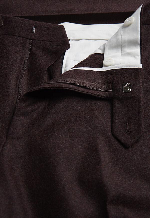 Burgundy Flannel Trouser, image 2