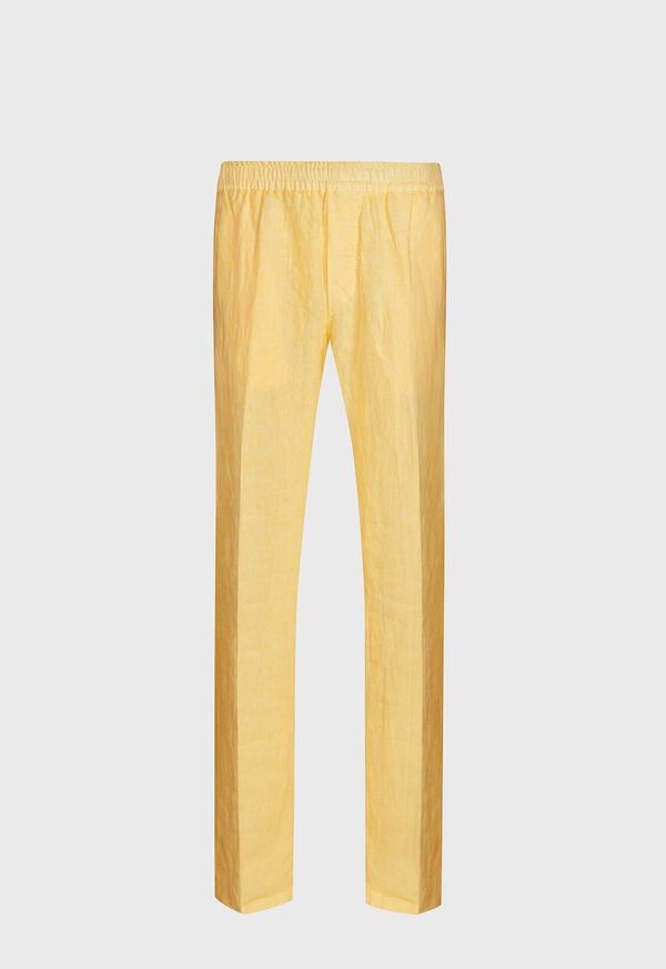 Solid Linen Pant, image 1