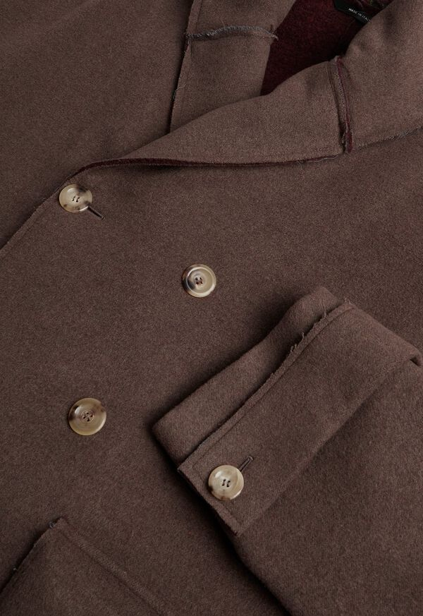 Brown & Burgundy Coat, image 3