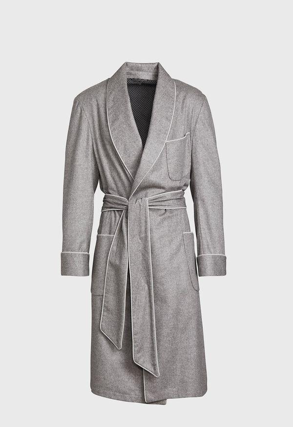 Cashmere Herringbone Robe, image 1