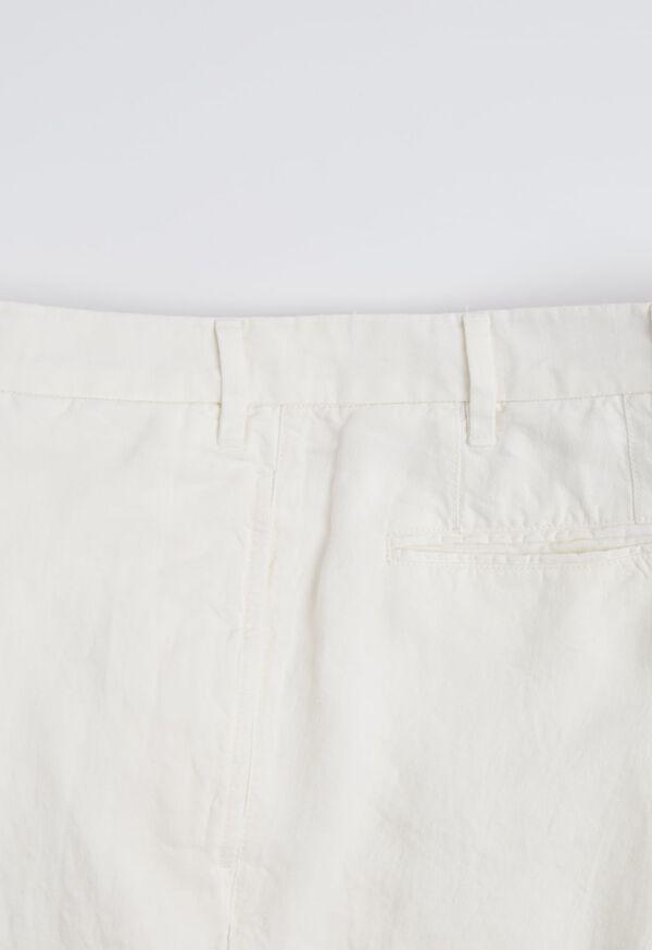 Linen Plain Front Pant, image 3