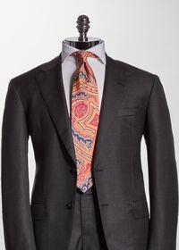 Silk Paisley Tie, thumbnail 2
