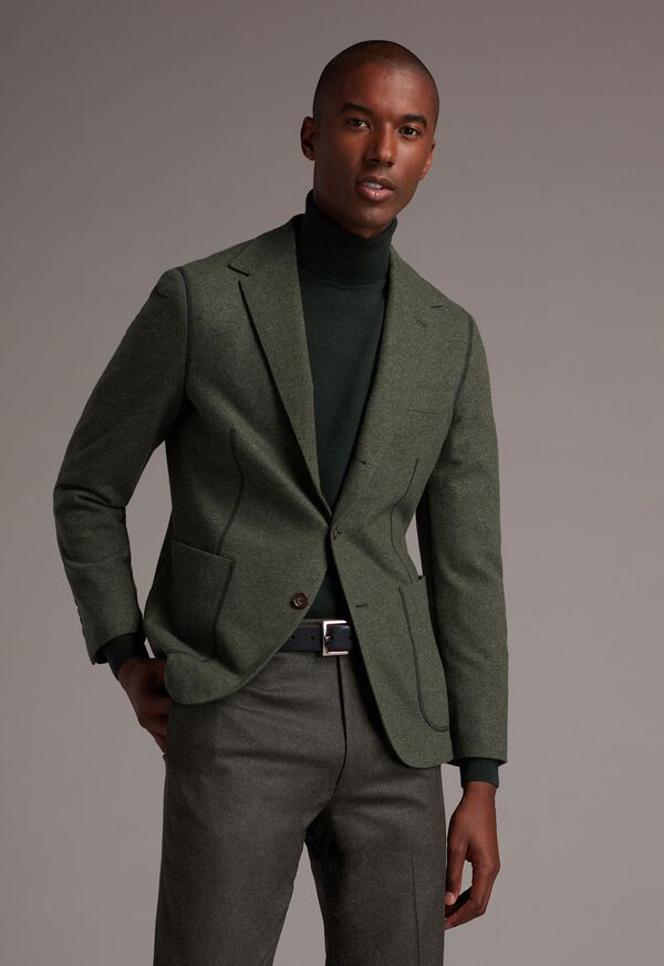 Wool and Cashmere Blend Turtleneck Sweater, image 2