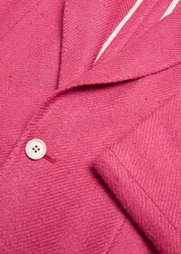 Solid Crimson Sport Jacket, thumbnail 2