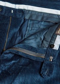 Cotton Wide Wale Plain Front Trouser, thumbnail 2