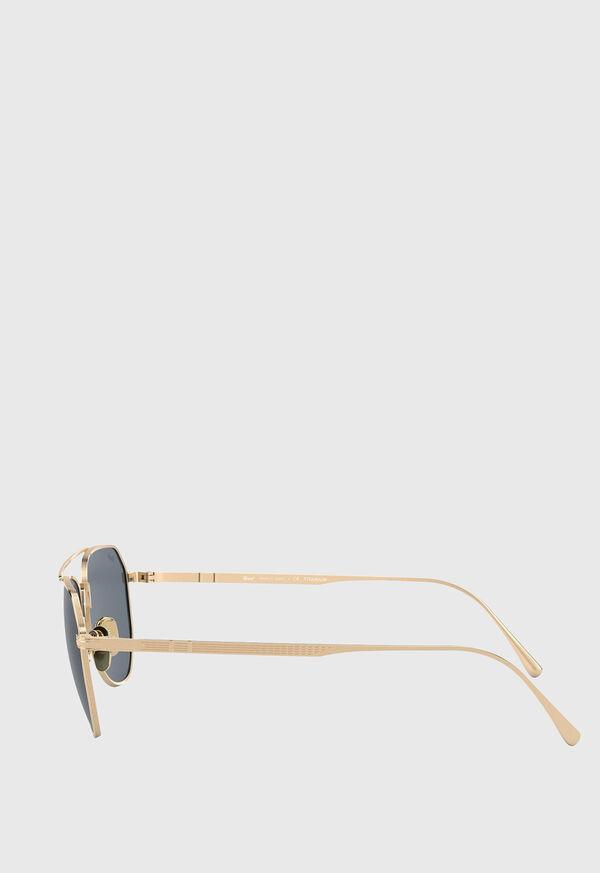 Persol's Gold Aviator Sunglasses, image 3