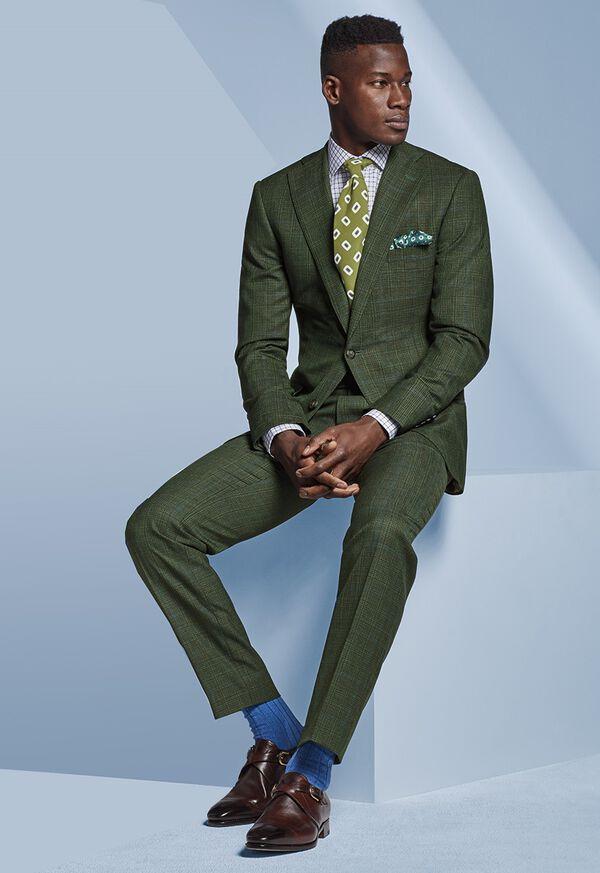 Shop Look 4 - Green Suit, image 1