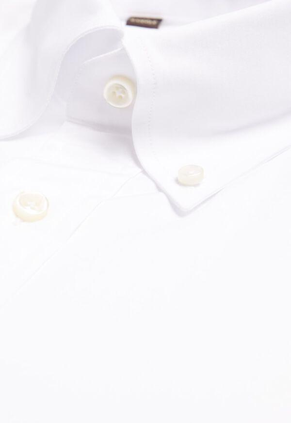 Slim Broadcloth Dress Shirt, image 2