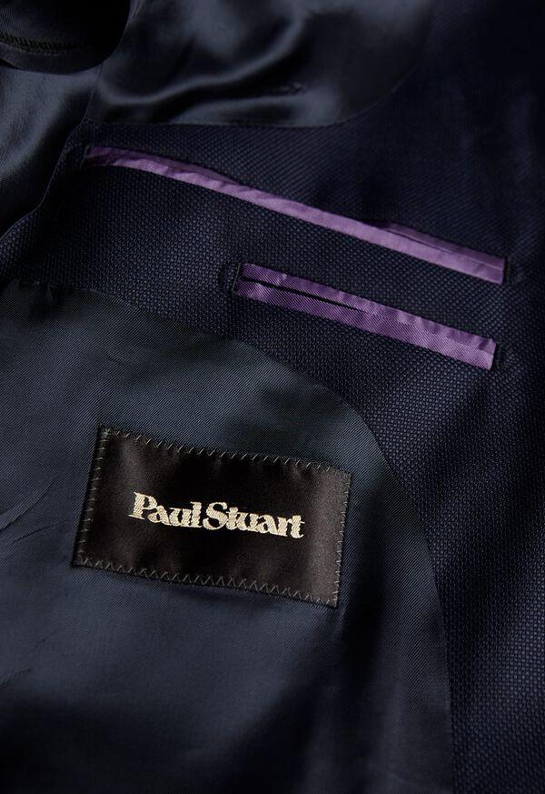 Navy Hopsack Soft Jacket, image 3