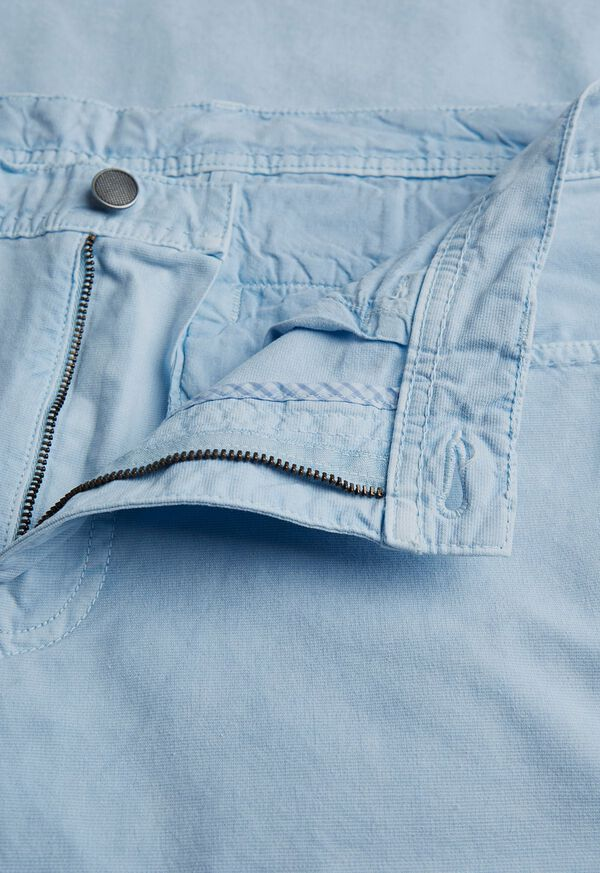 Stretch Cotton and Modal 5-Pocket Trouser, image 2