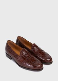 Lee II Low Vamp Penny Loafer, thumbnail 3