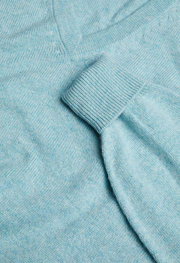 Scottish Cashmere V-Neck Sweater, image 31