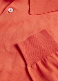 Long Sleeve Cotton Polo, thumbnail 7