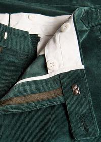 Flat Front Corduroy Trouser, thumbnail 3