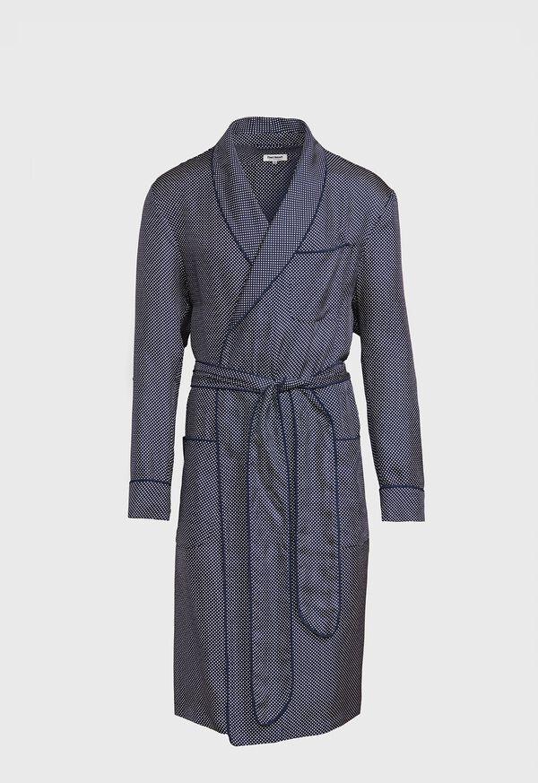 Silk Pindot Robe, image 1