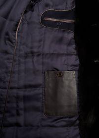 Cashmere Coat with Fur Lapel, thumbnail 3
