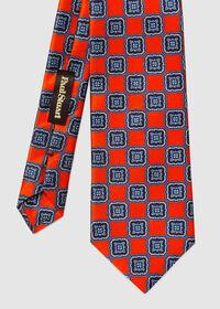 Silk Large Medallion Tie, thumbnail 2