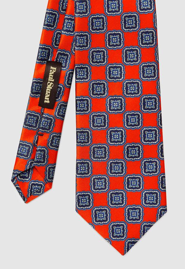 Silk Large Medallion Tie, image 2