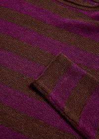 Two Tone Stripe Sweater, thumbnail 2