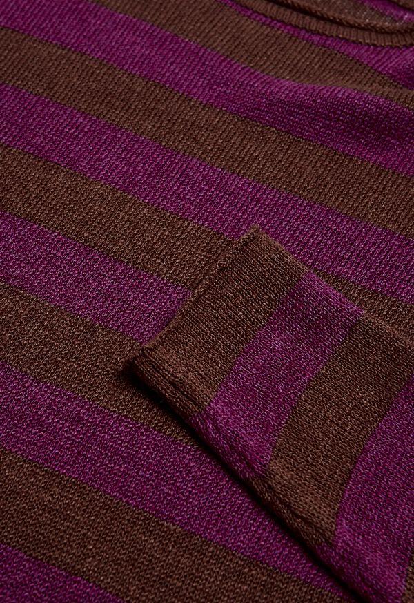 Two Tone Stripe Sweater, image 2