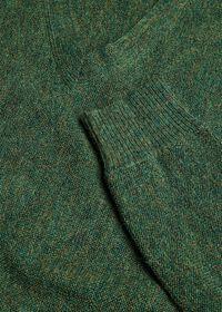 Alpaca Links V-Neck Sweater, thumbnail 2