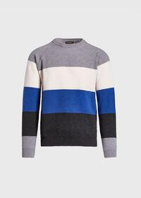 Block Stripe Wool Blend Sweater, thumbnail 1