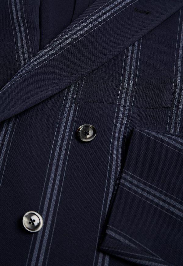 Navy/White Deco Stripe Soft Jacket, image 2