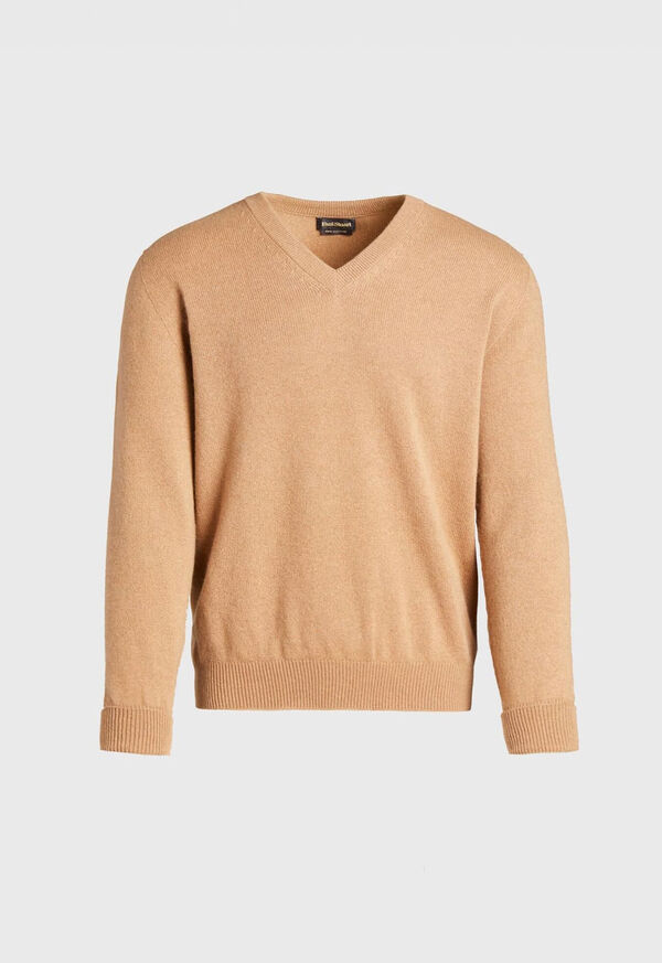 Cashmere V-Neck Sweater, image 1
