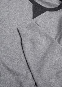 Pima Cotton Crewneck Sweatshirt, thumbnail 2