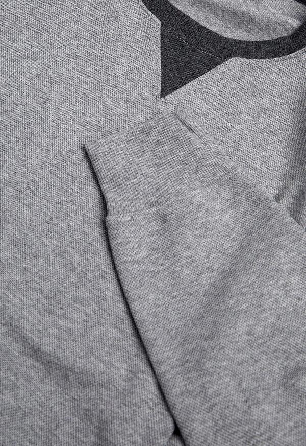 Pima Cotton Crewneck Sweatshirt, image 2