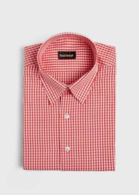 Gingham Cotton Sport Shirt, thumbnail 1