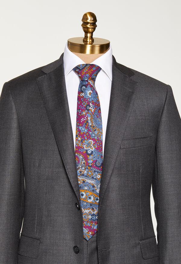 Paisley Printed Tie, image 2