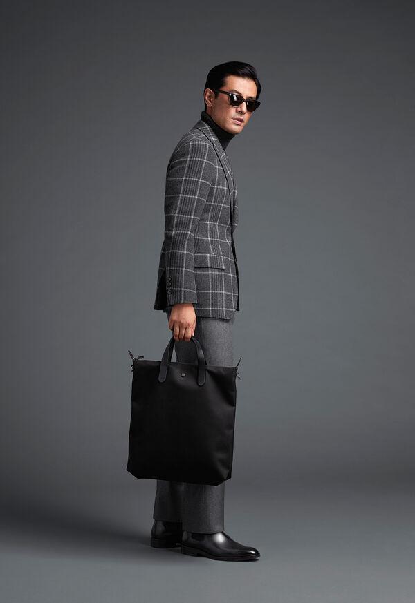 Grey Plaid Wool Sport Jacket, image 2