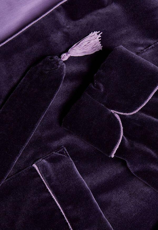 Velvet Smoking Jacket, image 2