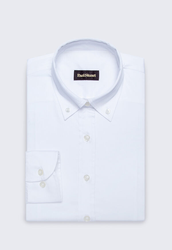 Stretch Cotton Oxford Shirt, image 1