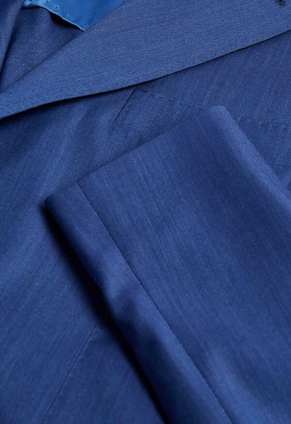 Blue Solid Suit, image 2