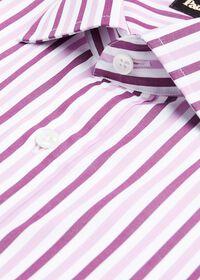 Pink Wide Stripe Dress Shirt, thumbnail 2