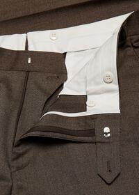 Mink Twill Plain Front Trouser, thumbnail 2