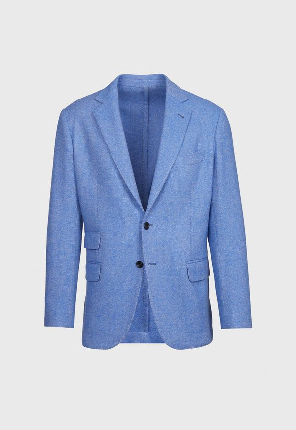 Solid Wool Soft Constructed Jacket