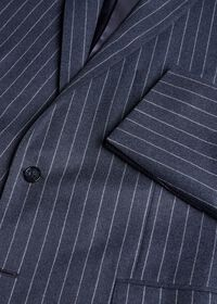 Paul Fit Chalk Stripe Super 120s Wool Suit, thumbnail 4