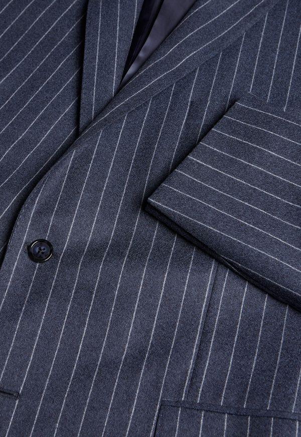 Paul Fit Chalk Stripe Super 120s Wool Suit, image 4